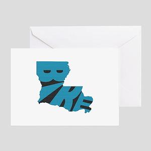 Bike Louisiana Greeting Card