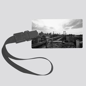 Brooklyn Subway Large Luggage Tag