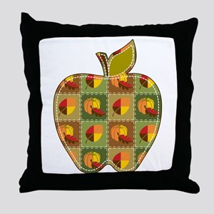 Autumn Quilt Throw Pillow