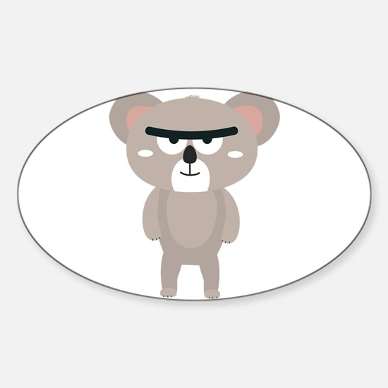 Big brow koala Decal