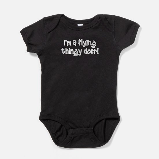 Funny Pilot flying Body Suit