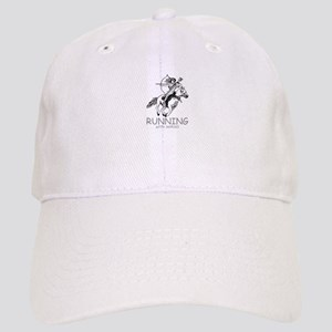 running with horses Cap