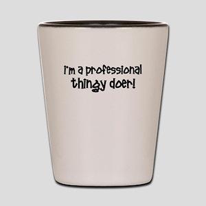 Funny Professional Shot Glass