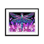 Dragonfly Framed Panel Print