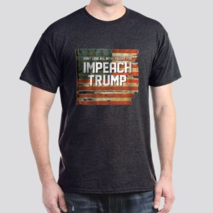 Impeach Trump T-Shirt - Star Spangled Banner