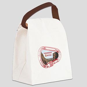 Eldorado Canyon Climbing Carabine Canvas Lunch Bag