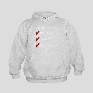 5th Birthday Checklist Sweatshirt