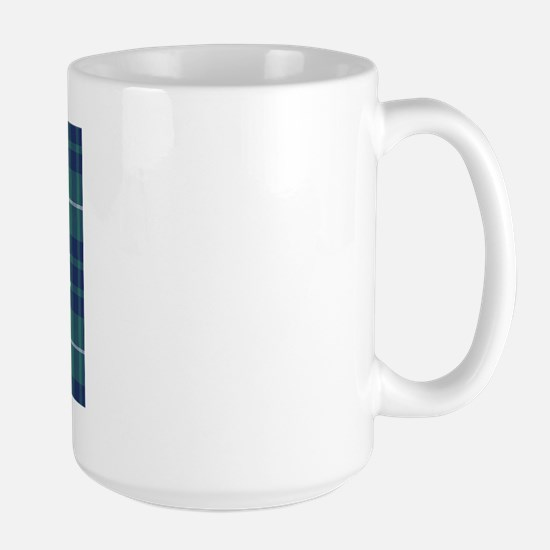 Tartan - Hamilton hunting Large Mug