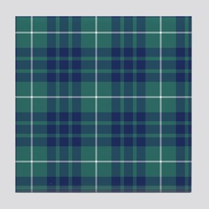 Tartan - Hamilton hunting Tile Coaster