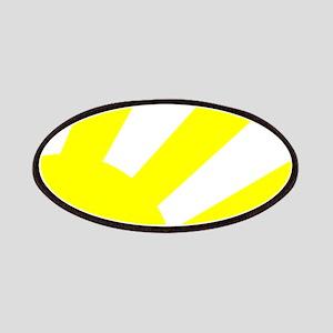 Yellow Sunburst Patch