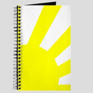 Yellow Sunburst Journal