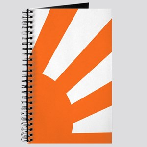 Orange Sunburst Journal