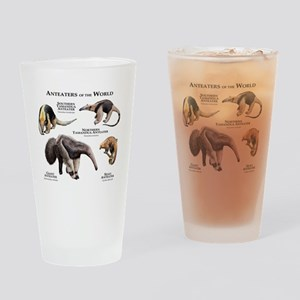 Anteaters of the World Drinking Glass