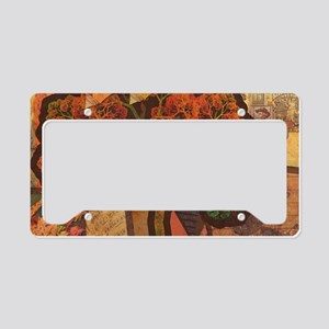 Beautiful Fractal Collage of License Plate Holder