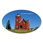 Two Harbors Lighthouse Sticker