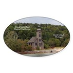 Grand Island East Channel Lighthouse Sticker