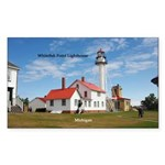 Whitefish Point Lighthouse Sticker