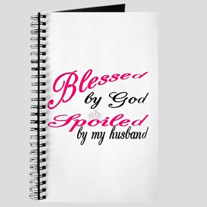 Blessed by God, Spoiled by My husband Journal