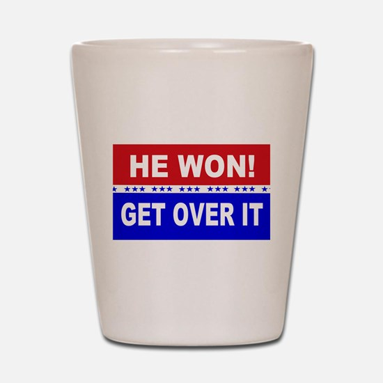Funny Political Shot Glass