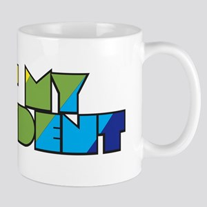 Not My President Rainbow Mug