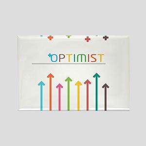 Rainbow Optimist Magnets