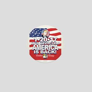 America is Back Trump Inauguration Mini Button