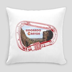 Eldorado Canyon Climbing Carabiner Everyday Pillow