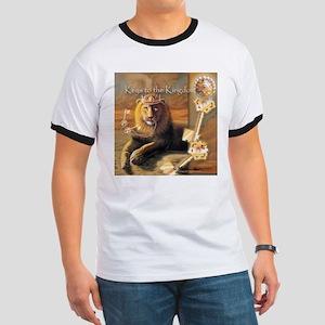 """Keys to the Kingdom"" Fine Art Lion T-Shirt"