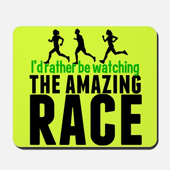 Amazing Race Mousepad