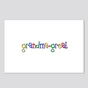Grandpa Great (google) Postcards (Package of 8)