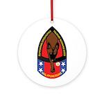 MalFF Logo Round Ornament
