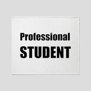 Professional Student Throw Blanket