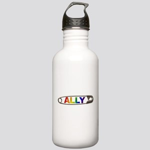 Safety Pin Ally LGBTQ Water Bottle