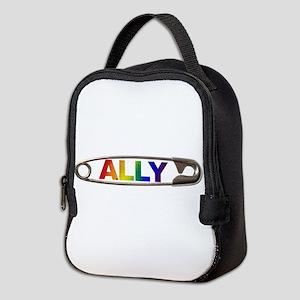 Safety Pin Ally Lgbtq Neoprene Lunch Bag