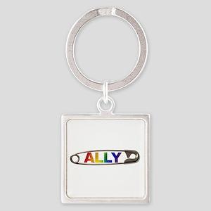 Safety Pin Ally Lgbtq Keychains