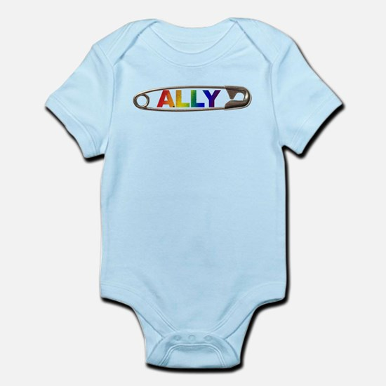 Safety Pin Ally LGBTQ Body Suit