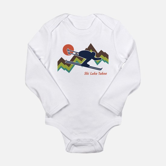 Ski Lake Tahoe Body Suit
