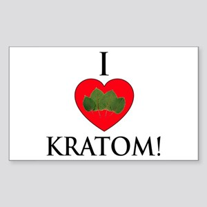 I Love Kratom! Sticker