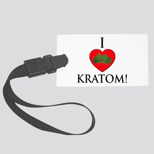 I Love Kratom! Luggage Tag