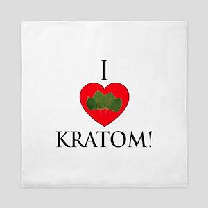 I Love Kratom! Queen Duvet