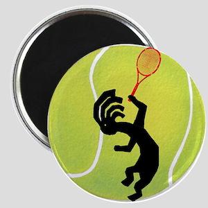 Kokopelli Tennis Magnet