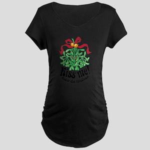 Kiss Me Maternity Dark T-Shirt