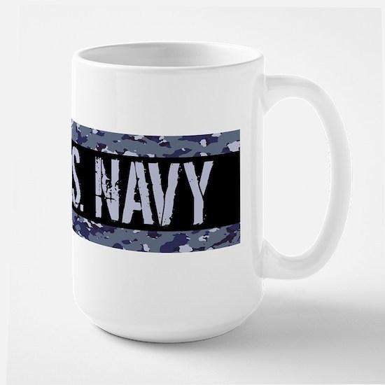U.S. Navy: Camouflage (NWU I Colors) Large Mug