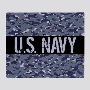 U.S. Navy: Camouflage (NWU I Colors) Throw Blanket