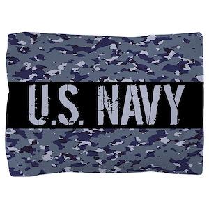 U.S. Navy: Camouflage (NWU I Colors) Pillow Sham