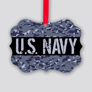 U.S. Navy: Camouflage (NWU I Colo Picture Ornament