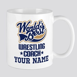 Wrestling Coach Personalized Gift Mugs