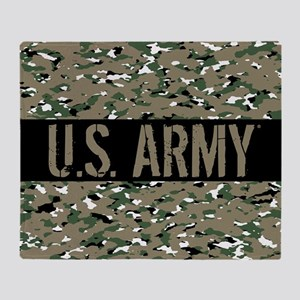 U.S. Army (Camouflage) Throw Blanket