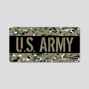 U.S. Army (Camouflage) Aluminum License Plate