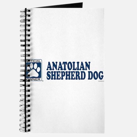 ANATOLIAN SHEPHERD DOG Journal